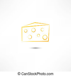 チーズ, アイコン