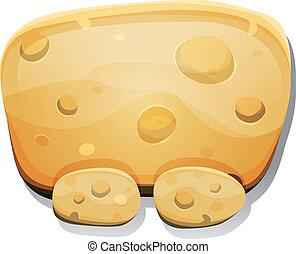 チーズ, ゲーム, ui, 漫画, 印