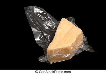 チーズ, パックされた, 真空