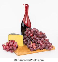 チーズ, ブドウ, そして, 赤ワイン