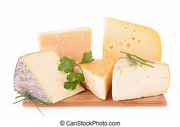 チーズ, 各種組み合わせ
