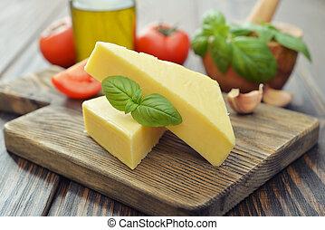 チーズ, 懸命に