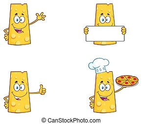 チーズ, 特徴, コレクション, 2., 漫画, マスコット