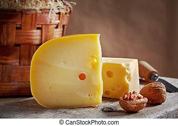 チーズ, 生活, まだ, クルミ
