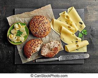 チーズ, 生活, まだ, bread