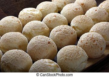 チーズ, 軽食, ブラジル人, bread