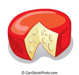 チーズ, (vector)