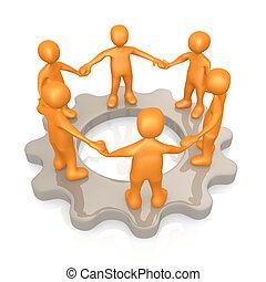 チームワーク, 創造的