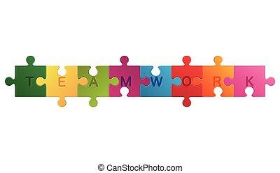 チームワーク, 困惑, 単語