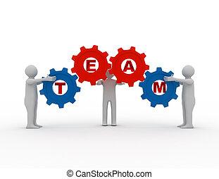 チームワーク, 概念, ∥で∥, ギヤ