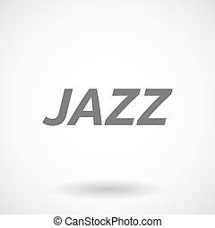 テキスト, イラスト, ジャズ