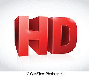 テキスト, イラスト, デザイン, 赤, hd, 3d