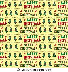テキスト, クリスマス, パターン