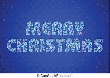 テキスト, クリスマス, 陽気