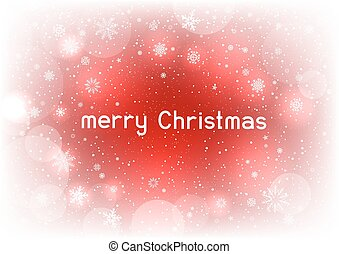 テキスト, マジック, クリスマス, 赤い背景