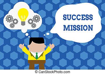 テキスト, 印, 間違い, される, 一緒に。, 完全, 仕事, いいえ, 方法, スーツ, mission., 泡, 地位, 写真, 提示, 概念, 仕事, 仕事, 手, 電球, 想像, 作られた男, 成功, 得ること, ライト, の上, ギヤ