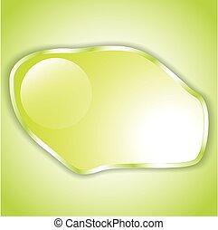 テキスト, 抽象的, バックグラウンド。, 黄緑色, スペース