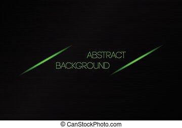 テキスト, 抽象的, 金属, ベクトル, 黒い背景, 場所, あなたの