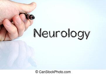 テキスト, 概念, 神経学