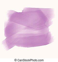 テキスト, 水彩画, 手ざわり, スペース, 紫色