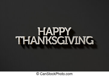 テキスト, 黒, 感謝祭, 幸せ