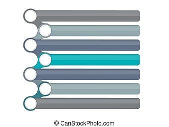 テキスト, infographic, デザイン, テンプレート, 場所, あなたの