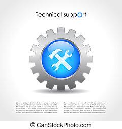 テクニカルサポート, デザイン
