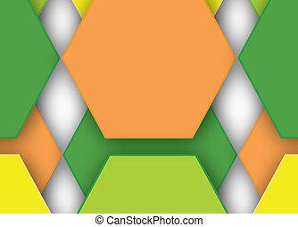 テクニカル, 幾何学的, 背景