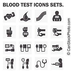 テスト, 血, アイコン