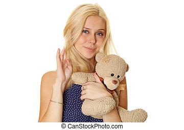 テディ, 保有物, 女, 腕