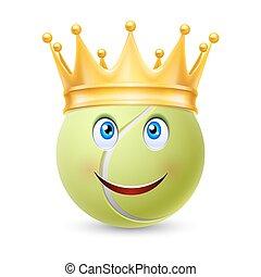 テニスボール, 金の王冠