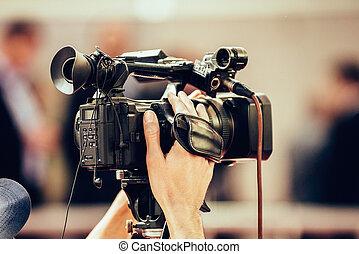 テレビカメラ, でき事