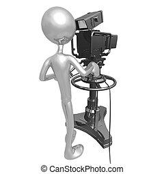 テレビカメラ, スタジオ