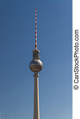 テレビ, ベルリン, mitte, タワー
