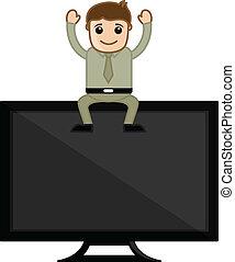 テレビ, -, 漫画, ビジネス