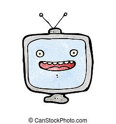 テレビ, 漫画, 特徴