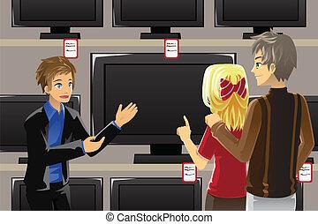 テレビ, 購入