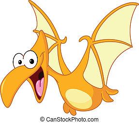 テロダクティル, 恐竜