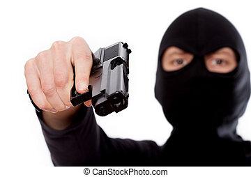 テロリスト, 銃