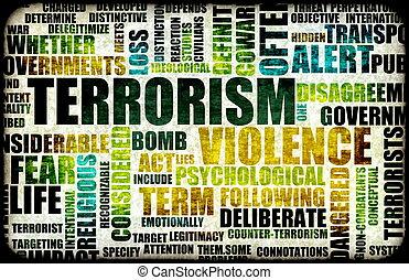 テロリズム, 警告
