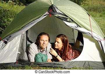 テント, シリーズ, 偶力キャンピング