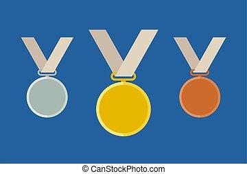 テンプレート, オリンピック, メダル