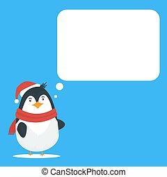 テンプレート, カード, クリスマス, 挨拶, ブランク