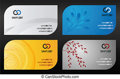 テンプレート, カード, ビジネス