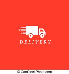 テンプレート, トラック, ロゴ, 出産