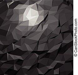 テンプレート, ビジネス 実例, polygonal, 背景, ベクトル, デザイン, モザイク