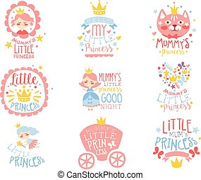 テンプレート, ピンク, プリント, セット, 部屋, 色, 青, 女の子, 小さい王女, 幼児, デザイン, 衣類, ∥あるいは∥
