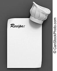 テンプレート, レシピ