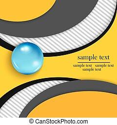 テンプレート, 背景, infographics