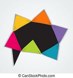 テンプレート, 要素, infographic, ビジネス, options., 抽象的, グラフ, 創造的, 図, presentation., ベクトル, イラスト, 6, ステップ